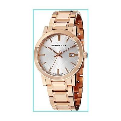 Swiss Rose Gold Silver Date Dial 38mm Unisex Men Women Wrist Watch The City BU9004【並行輸入品】