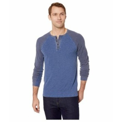 Lucky Brand ラッキーブランド 服 一般 Burnout Thermal Color Block Tee