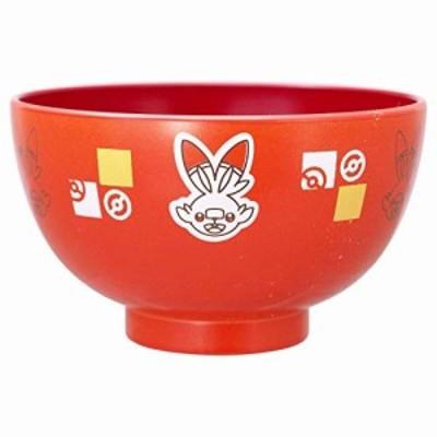 金正陶器 「 ポケットモンスター 」 フェイス 汁椀 M ヒバニー 142541 日本製 オレンジ 10.5cm