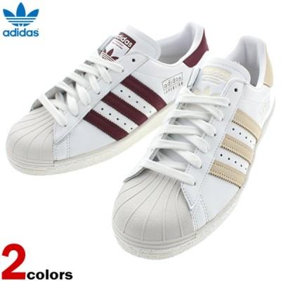 アディダス adidas スニーカー スーパースター 80s SUPER STAR 80s FTWホワイト/エクリュティント (CG7085) FTWホワイト/マルーン (CM8439)