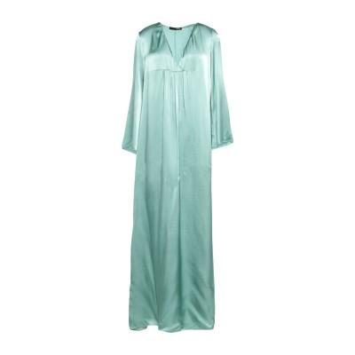 テッサ .TESSA ロングワンピース&ドレス ライトグリーン 38 レーヨン 100% ロングワンピース&ドレス