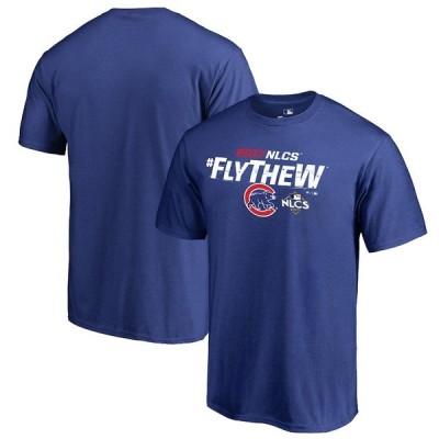 ファナティクス Tシャツ トップス メンズ Chicago Cubs Fanatics Branded 2017 League Championship Series Delayed Steal TShirt Royal