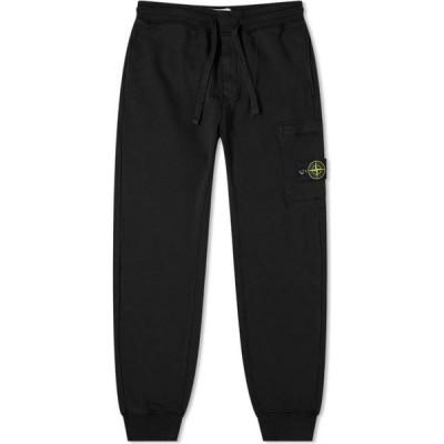 ストーンアイランド Stone Island メンズ ジョガーパンツ ボトムス・パンツ Garment Dyed Pocket Jogger Black