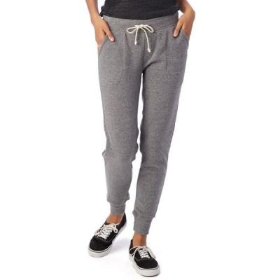 オルタナティヴ アパレル レディース カジュアルパンツ ボトムス Eco-Fleece Women's Jogger Pants