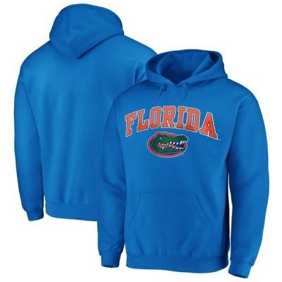 カレッジ パーカー NCAA フロリダ大学 ゲイターズ フーディー キャンパス プルオーバー ロイヤル