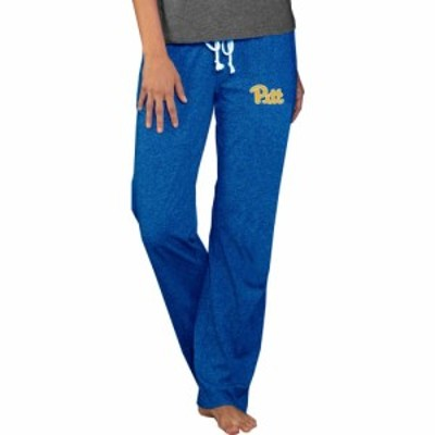 コンセプト スポーツ Concepts Sport レディース ボトムス・パンツ Pitt Panthers Blue Quest Knit Pants