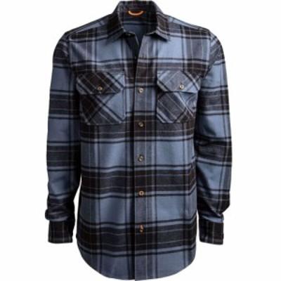 ティンバーランド Timberland メンズ シャツ フランネルシャツ トップス Woodfort Flannel Shirt Vintago Indigo/Blck Check