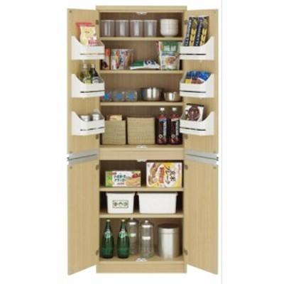 食器棚 おしゃれ 北欧 激安 完成品 キッチン 収納 棚 ラック 木製 キッチンボード カップボード ハイタイプ 大容量 約 幅60 日本製