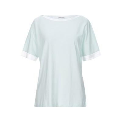グラン サッソ GRAN SASSO T シャツ ライトグリーン 42 コットン 100% / シルク / ポリウレタン T シャツ