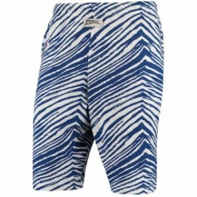 Zubaz ズバズ スポーツ用品  Zubaz Los Angeles Dodgers Royal/White Zebra Short
