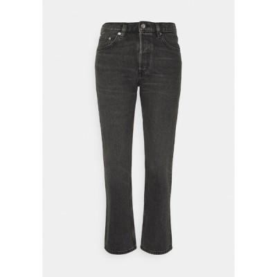 アーケット デニムパンツ レディース ボトムス Straight leg jeans - washed black