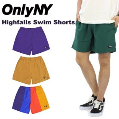 オンリー ニューヨーク(Only Ny) Highfalls Swim Shorts /ショートパンツ/ハーフパンツ/男性用/メンズ  [AA]