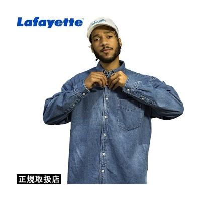 Lafayette(ラファイエット) SCRIPT LOGO DENIM SHIRT