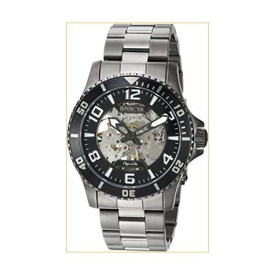 Invicta Men's Objet D Art Automatic-self-Wind Watch with Stainless-Steel Strap, Grey, 22 (Model: 22606) 並行輸入品