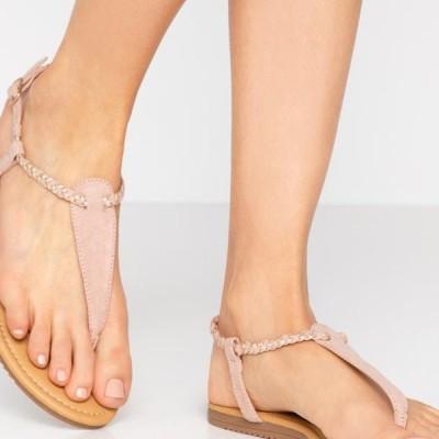 アンナフィールド レディース サンダル T-bar sandals - rose gold