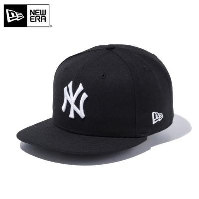 【メーカー取次】 NEW ERA ニューエラ 9FIFTY ニューヨーク・ヤンキース ブラックXホワイト 12336621 キャップ メンズ 帽子 メジャーリーグ 野球【Sx】