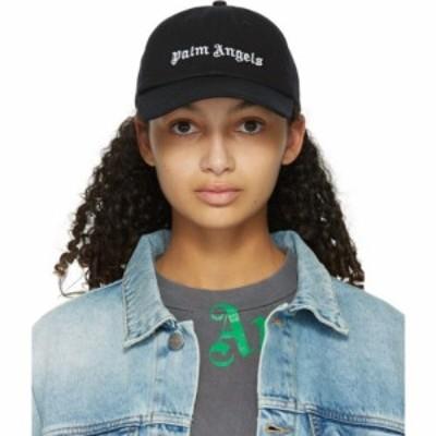 パーム エンジェルス Palm Angels レディース キャップ 帽子 Black Classic Logo Cap Black/White