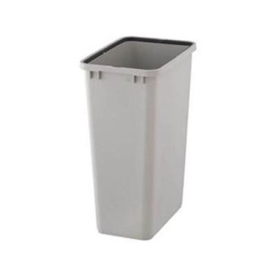まとめ売りTRUSCO PPペール角型 本体48L グレー TPPK-45-GY 1個(フタ別売) ×5セット 生活用品 インテリア 雑貨 日用雑貨 ゴミ箱[▲][T