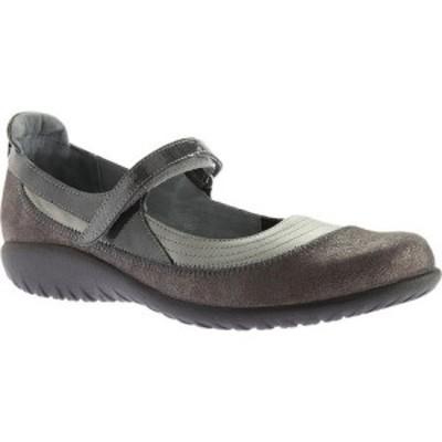 ナオト Naot レディース シューズ・靴 Kirei Mary Jane Sterling/Gray Shimmer Leather/Gray Patent