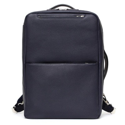リュック バックパック ブランド メンズ 本革 日本製 ブルー ネイビー 青色 ビジネス 鞄 ファイブウッズ(FIVE WOODS)