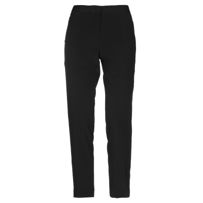 マウロ グリフォーニ MAURO GRIFONI パンツ ブラック 46 アセテート 69% / シルク 31% パンツ