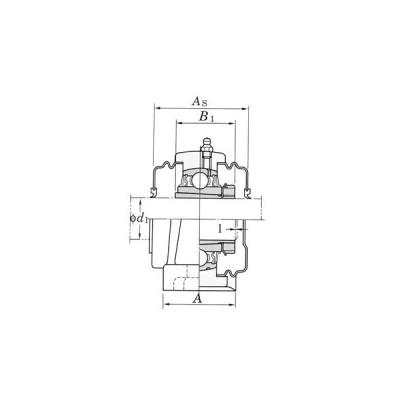 ピロー形ユニット UKP-C形 FYH (日本ピローブロック) UKP211C