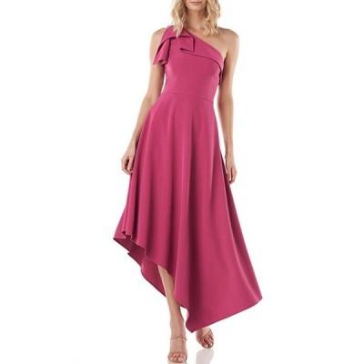 ケイ アンジャー レディース ワンピース トップス Bethany One Shoulder Asymmetrical Hem Dress