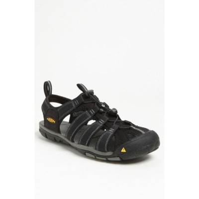 キーン KEEN メンズ サンダル シューズ・靴 'Clearwater CNX' Sandal Black/Gargoyle