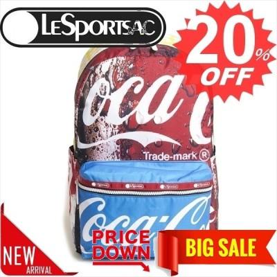 レスポートサック バッグ リュック・バックパック LESPORTSAC コカ・コーラコラボ CARSON BACKPACK 3426  G677 COKE COLLAGE    比較対照価格26,400 円