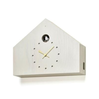 レムノス Lemnos CUCULO FELICE 掛け時計 カッコー時計 グレー MAA18-01 G