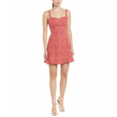 Shift  ファッション ドレス Hutch Linen-Blend Shift Dress