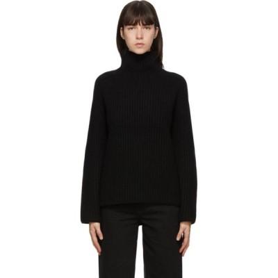 アクネ ストゥディオズ Acne Studios レディース ニット・セーター トップス Black Wool Rib Knit Turtleneck Black