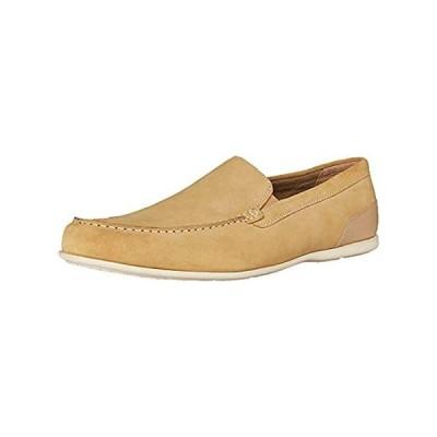 Rockport Men's Malcom Venetian Loafer, Tan Suede, 11 W US