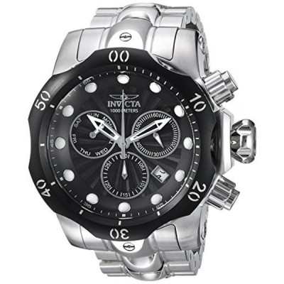 インビクタ 腕時計 メンズウォッチ Invicta Men's 'Venom' Quartz Stainless Steel Casual Watch, Color:Silver-Toned (Model: 23888)