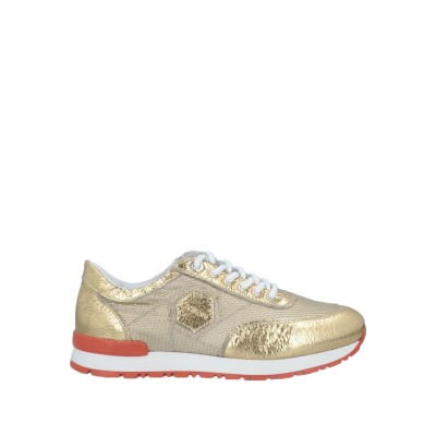 ア・テストーニ A.TESTONI スニーカー&テニスシューズ(ローカット) ゴールド 36 紡績繊維 / 革 スニーカー&テニスシューズ(ローカッ