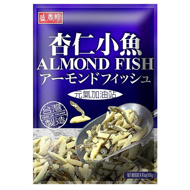 《盛香珍》杏仁小魚 100g