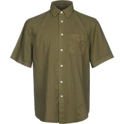 ラグ&ボーン RAG & BONE メンズ シャツ トップス solid color shirt Military green
