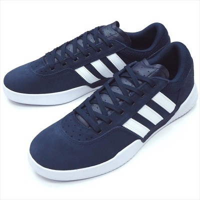 "【28.0cm/10.0"" シューズ スケートボード アディダス】Adidas City Cup Navy/White/White"
