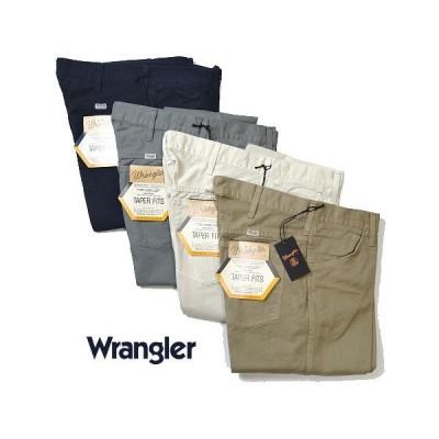 Wrangler ラングラー US オリジナル テーパーフィット パンツ コットンパンツ 綿パン メンズ