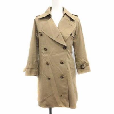 【中古】ビューティフルピープル トレンチコート アウター ultimate pima twill trench coat 130 ベージュ