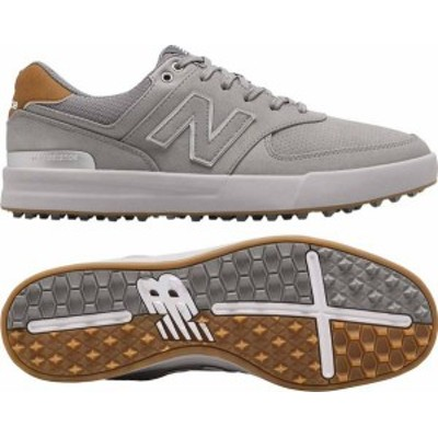 ニューバランス メンズ スニーカー シューズ New Balance Men's 574 Greens Golf Shoes Grey