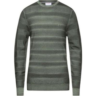 サン シックスティーエイト SUN 68 メンズ ニット・セーター トップス Sweater Military green