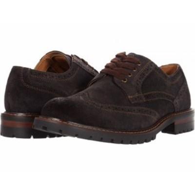 Steve Madden スティーブマデン メンズ 男性用 シューズ 靴 オックスフォード 紳士靴 通勤靴 Kommber Oxford Brown Suede【送料無料】