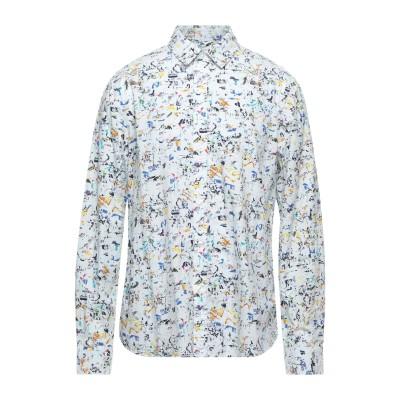 デシグアル DESIGUAL シャツ ホワイト L コットン 100% シャツ