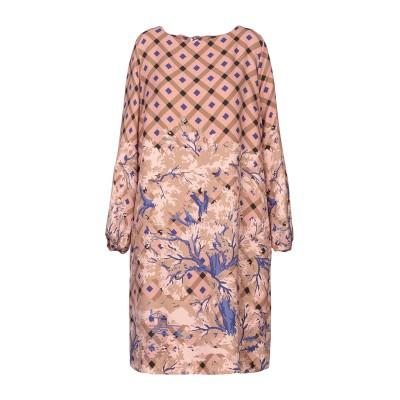 OTTOD'AME ミニワンピース&ドレス ローズピンク 42 ポリエステル 100% ミニワンピース&ドレス