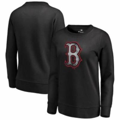 Fanatics Branded ファナティクス ブランド スポーツ用品  Fanatics Branded Boston Red Sox Womens Black Core Smoke