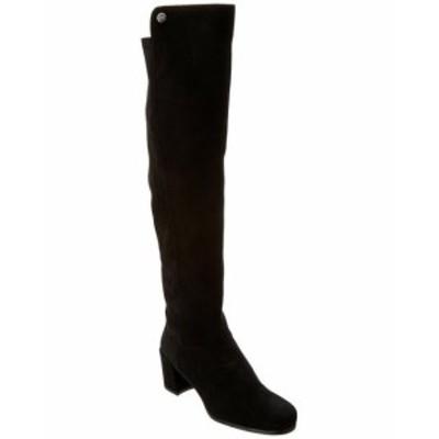 Stuart Weitzman スチュアート ワイツマン シューズ ブーツ Stuart Weitzman Infront Suede Over-The-Knee Boot 36.5 Black