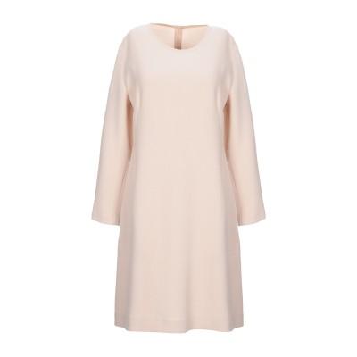 ANTONELLI ミニワンピース&ドレス ライトピンク 40 バージンウール 100% ミニワンピース&ドレス
