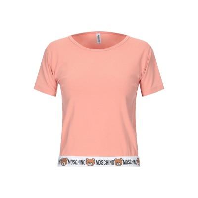 モスキーノ MOSCHINO アンダーTシャツ パステルピンク S コットン 95% / ポリウレタン 5% アンダーTシャツ