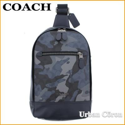 コーチ メンズ バッグ ショルダーバッグ COACH F76843 ブルーマルチ カモフラージュ グラハム パック スリング ボディーバッグ QBBLM アウトレット